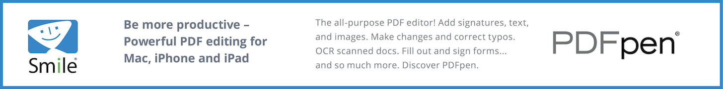 PDFpen: Be more productive - powerful PDF editing for Mac, iPhone, and iPad.