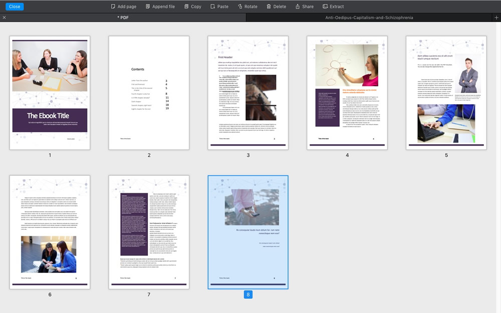 Acrobat Alternative: The Best Mac PDF Editor of 2019