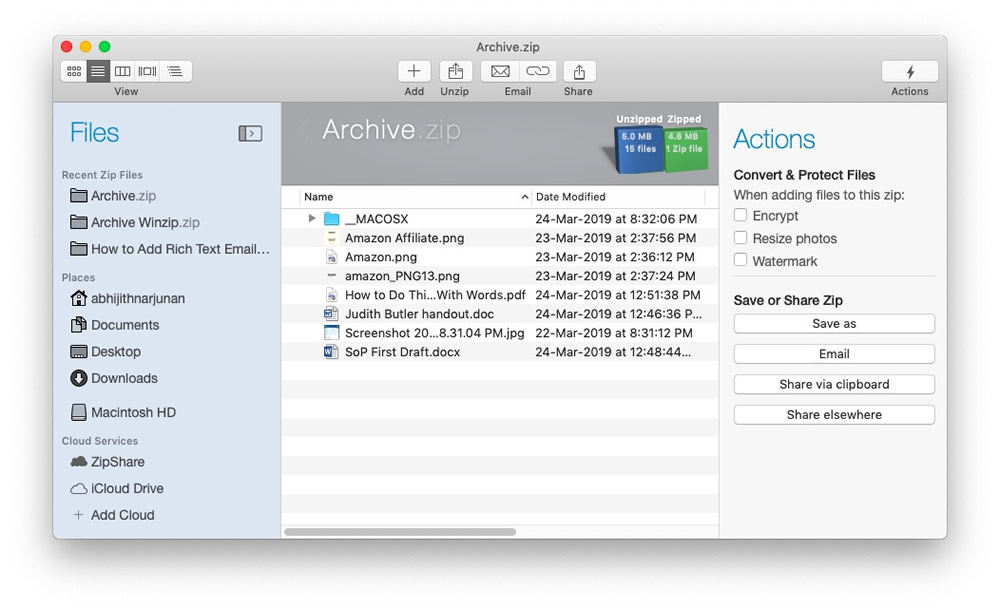 The Best Mac Unarchiver/Archiver Apps For All Your Stuff