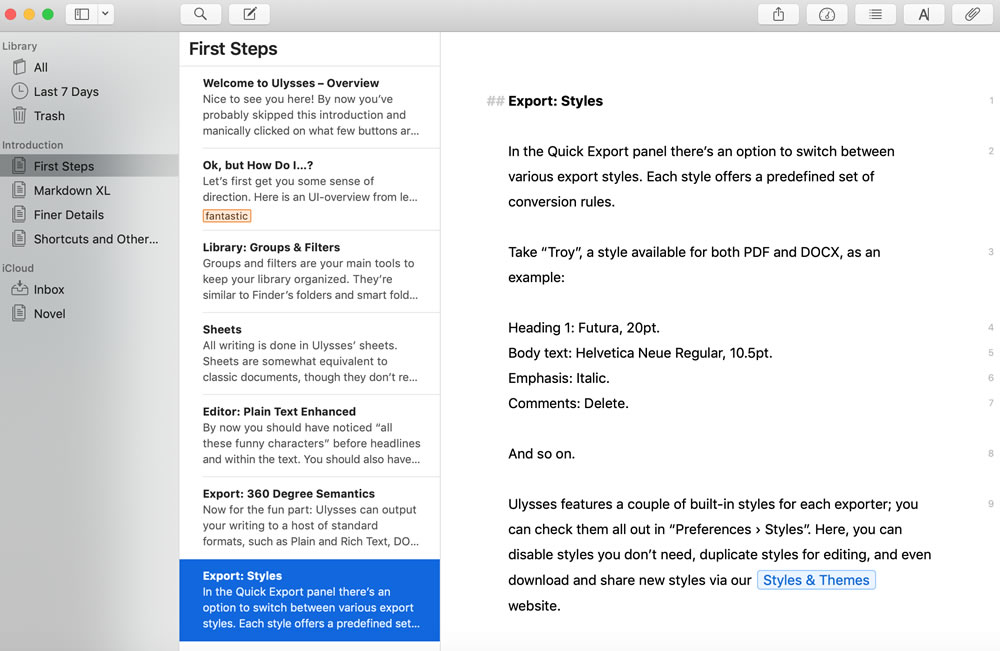 Best Distraction-Free Writing App for Mac (and iOS