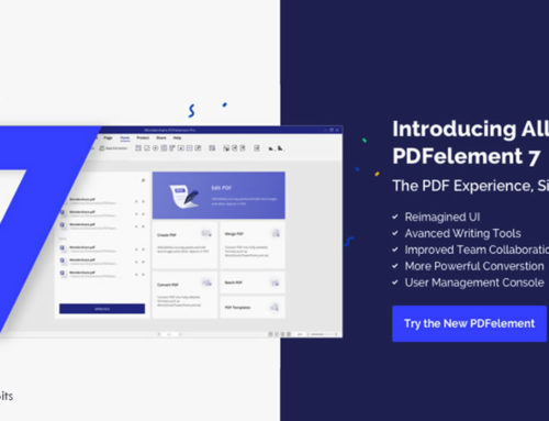 Wondershare All-New PDFelement 7