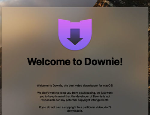 Downie 4: YouTube Download With Postprocessing