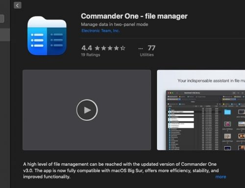 Commander One Ver 3 – An Enhanced File Manager